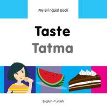 My Bilingual Book - Taste - Turkish-english