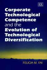 Corporate Technological Competence and the Evolution of Technological Diversification