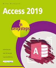Access 2019 in easy steps