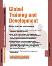 Global Training and Development: Training and Development 11.2