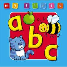 My First ABC Board Book:  Bright and Colorful First Topics Make Learning Easy and Fun. for Ages 0-3.
