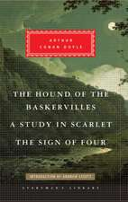 Doyle, A: The Hound of the Baskervilles, A Study in Scarlet,