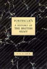 Fortescue's History of the British Army:  Volume XII Maps