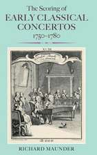 The Scoring of Early Classical Concertos, 1750–1780