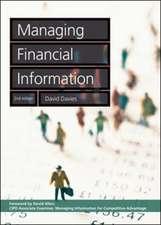 Managing Financial Information