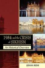 1984 & THE CRISIS OF SIKHISM