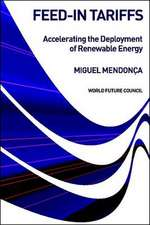 Feed-In Tariffs: Accelerating the Deployment of Renewable Energy