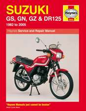 Suzuki GS, GN, GZ and DR125 Service and Repair Manual