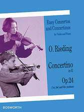 Concertino in G, Op. 24:  Easy Concertos and Concertinos Series for Violin and Piano