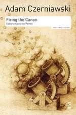 Firing the Canon