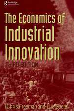 Economics of Industrial Innovation