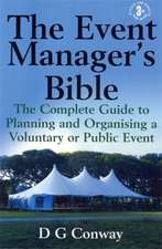 The Event Manager's Bible 3rd Edition