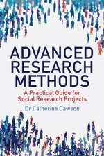 Advanced Research Methods