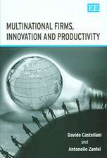 Multinational Firms, Innovation And Productivity