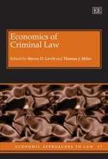 Economics of Criminal Law