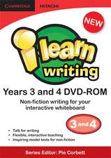 i-learn: writing Non-fiction Years 3 and 4 DVD-ROM