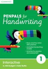 Penpals for Handwriting Year 1 Interactive