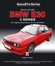How to Modify BMW E30 3 Series for High-Performance & Competition:  V-Range Models 1963-1986