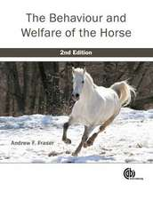 Behaviour and Welfare of the Horse:  Food Production, Communities and Environment at the Land-Water Interface