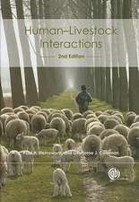 Human-Livestock Interactions:  The Stockperson and the Productivity of Intensively Farmed Animals