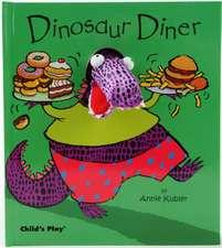 Dinosaur Diner [With Dinosaur Finger Puppet]
