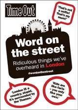 Time Out Guide: Word on the Street
