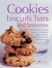 Cookies, Biscuits, Bars and Brownies