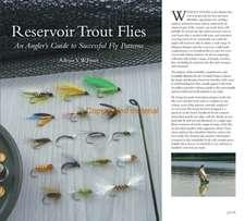 Reservoir Trout Flies