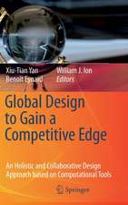 Global Design to Gain a Competitive Edge: An Holistic and Collaborative Design Approach based on Computational Tools