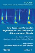 Time–Frequency Domain for Segmentation and Classification of Non–stationary Signals: The Stockwell Transform Applied on Bio–signals and Electric Signals
