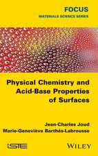 Physical Chemistry and Acid–Base Properties of Surfaces