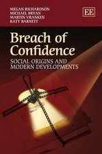Breach of Confidence – Social Origins and Modern Developments