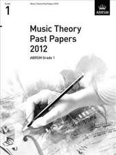 Music Theory Past Papers 2012, ABRSM Grade 1