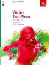 Violin Exam Pieces 2016-2019, ABRSM Grade 4, Part: Selected from the 2016-2019 syllabus