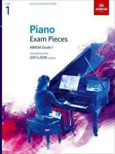 Piano Exam Pieces 2017 & 2018, ABRSM Grade 1