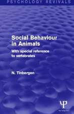 Social Behaviour in Animals (Psychology Revivals)