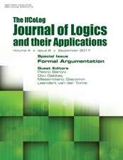 Ifcolog Journal of Logics and their Applications Volume 4, number 8. Formal Argumentation