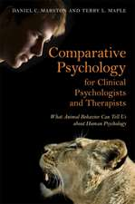 Comparative Psychology for Clinical Psychologists and Therapists