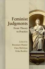Feminist Judgments: From Theory to Practice