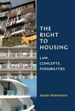 The Right to Housing: Law, Concepts, Possibilities
