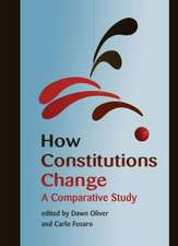 How Constitutions Change: A Comparative Study