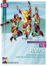 BrightRED Study Guide National 5 RMPS (Religious, Moral and Philosophical Studies)
