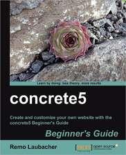 Concrete5 Beginner's Guide