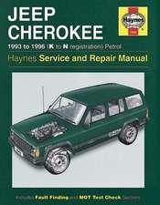 Jeep Cherokee Service and Repair Manual: Jeep Cherokee Petrol (93 - 96) K to N