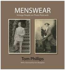 Menswear: Vintage People on Photo Postcards