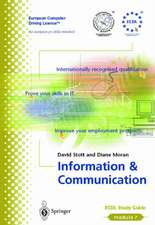 Information and Communication: ECDL - the European PC standard