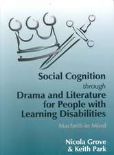 Social Cognition Through Drama and Literature for People with Learning Disabilities