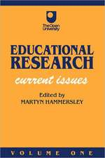 Educational Research: Volume One: Current Issues