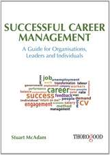 Successful Career Management