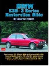 BMW E30-3 Series Restoration Bible